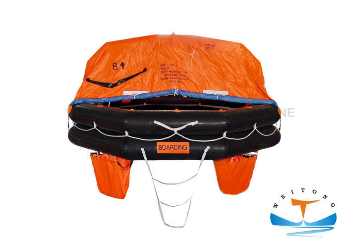 Durable Marine Life Raft Maximum Storage Height 43m For Marine Life Saving
