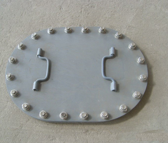 B Type Marine Hatch Cover Flush Type With Bolts Excellent Watertightness