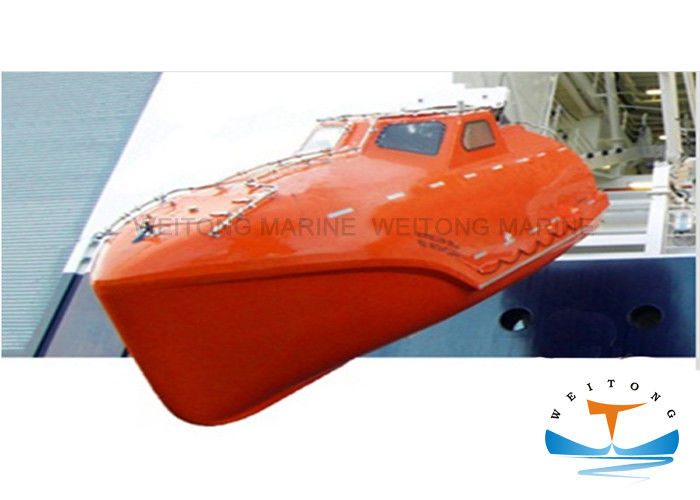 Yanmar Engine Enclosed Life Boat Convenient Maintenance 4000 Kg Weight