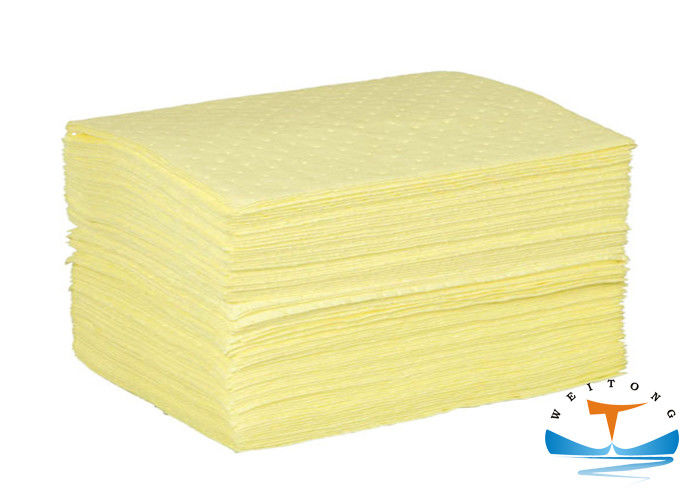 105L Absorbency Industrial Oil Absorbent Sheet 40x50cm Size 8mm Thickness