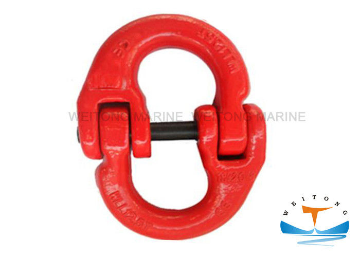 European Type Rigging Lifting Equipment Alloy Connecting Link With Hot Dip Galvanized