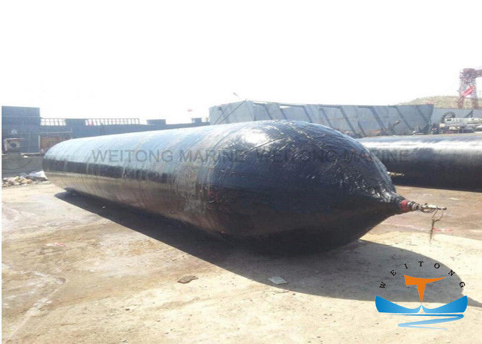 8 ~ 24m Length Inflatable Marine Airbags For Ship Launching Work Pressure 0.07 - 0.33MPa